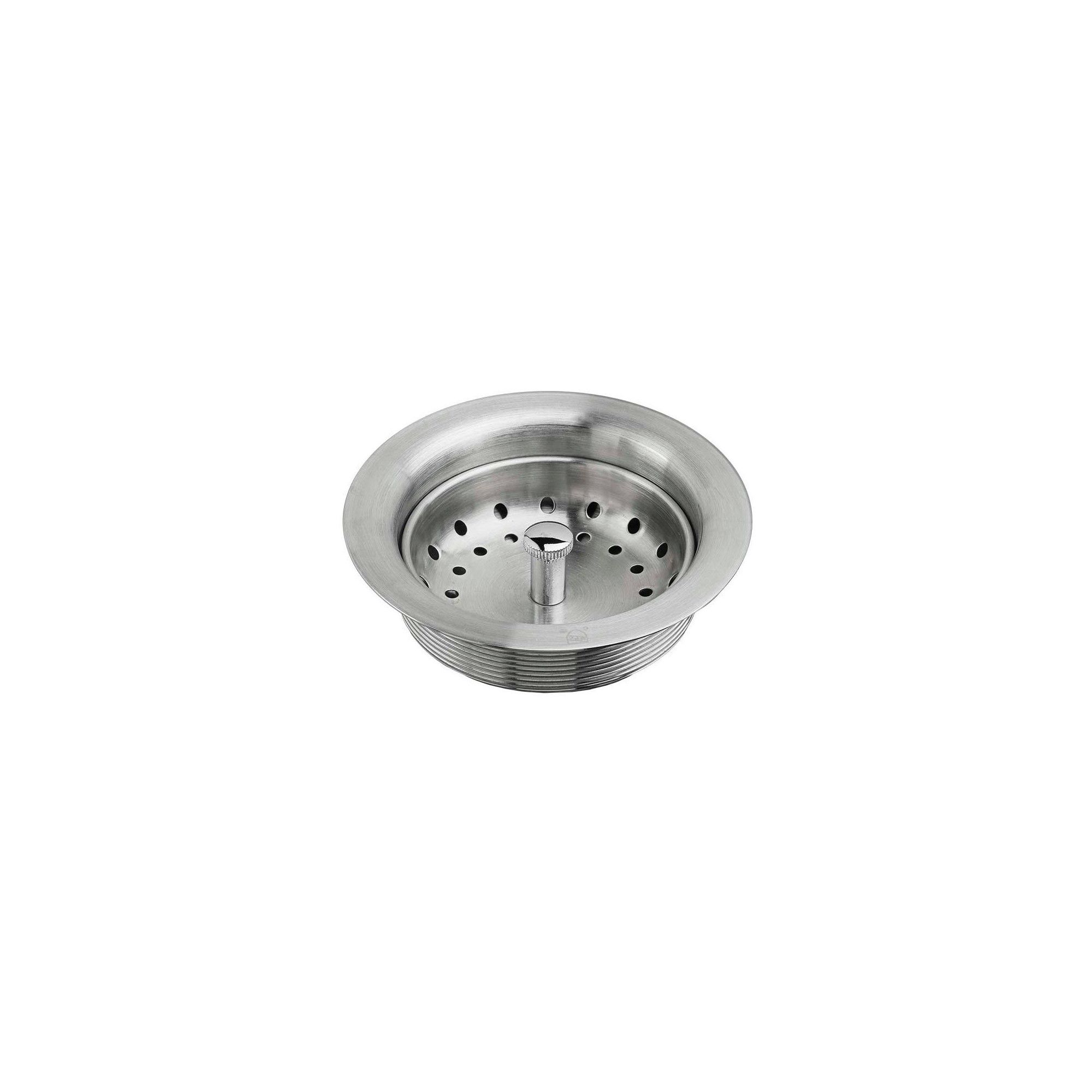 American Standard 9028 000 Kitchen Sink Drain With Strainer In Stainless Steel Stainless Steel Silver Sink Drain American Standard Kitchen Sink