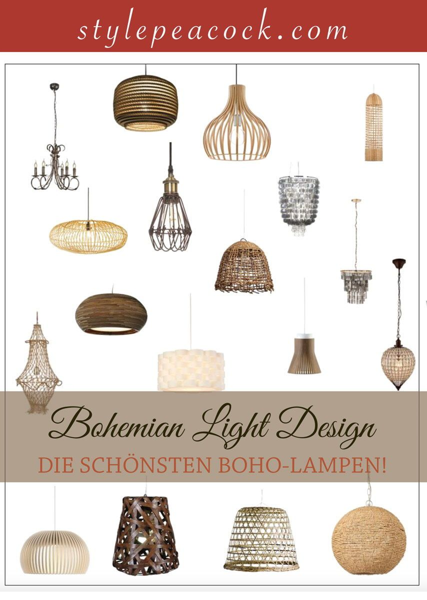 Lampe Fur Decke Boho Style Revuu Curated For App Lampen Lampen
