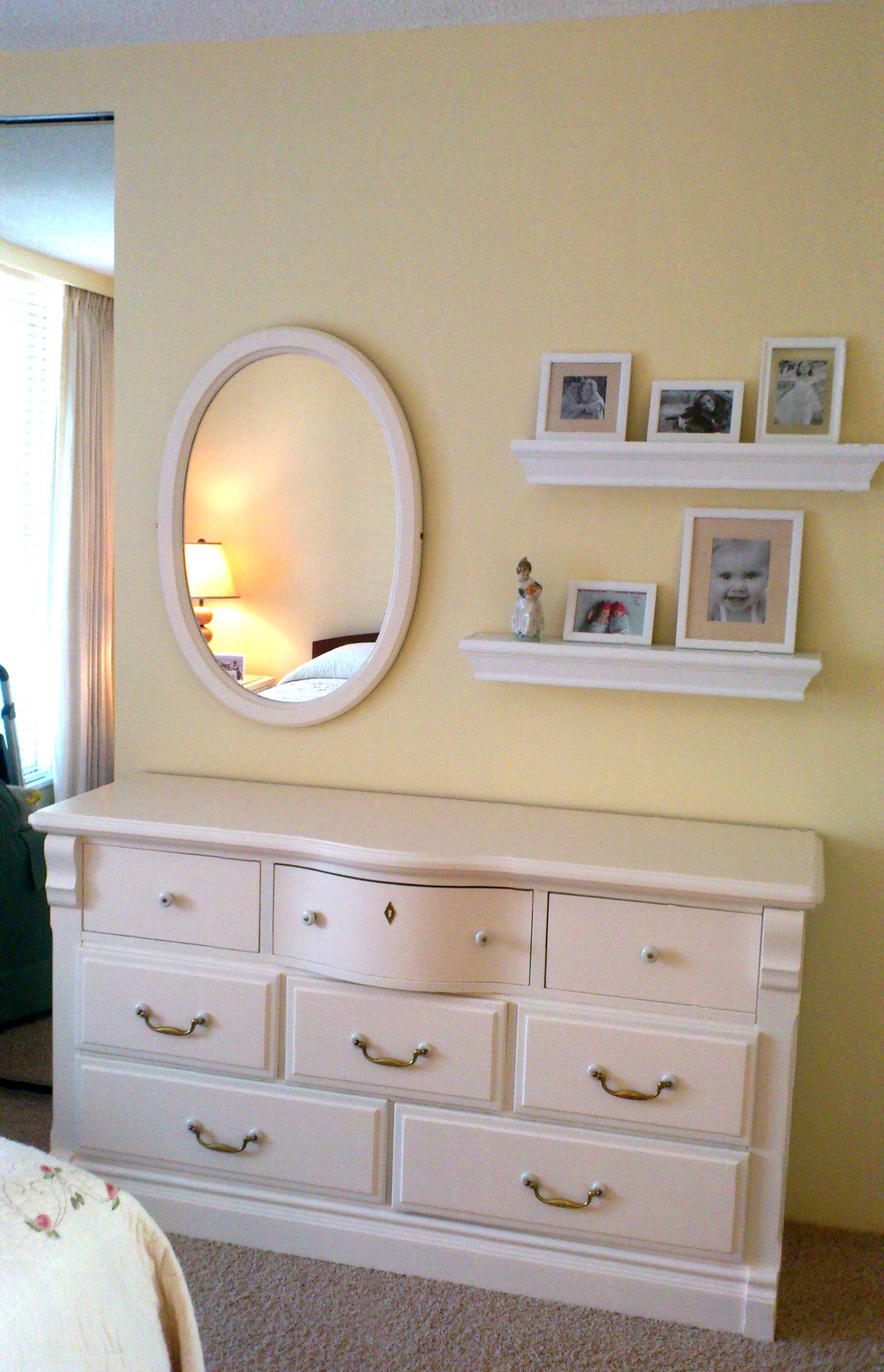 Mirror Shelves Over Dresser Outdoor Wall Decor Temporary Wall