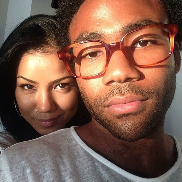Donald glover dating abella anderson