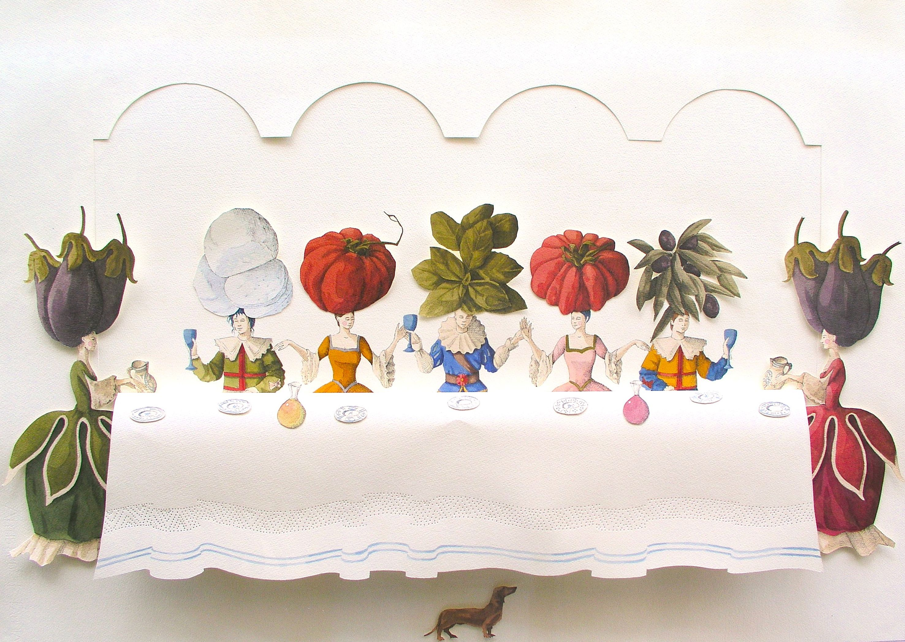 la-felicitc3a0-c3a8-al-piano-di-sopra2014acquerello-e-china-su-cartacm70x100naturalismo-di-parmigiana.jpeg (2953×2096)