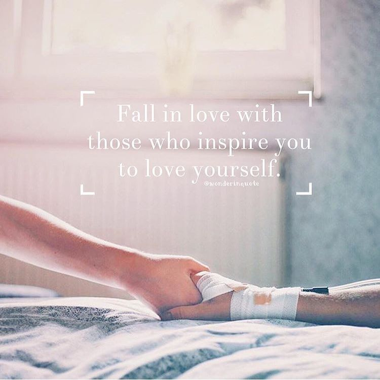 """""""Fall in love with those who inspire you to love yourself."""" PicLab™ Sayings on Instagram: By @wonderinquote Photo @mrtin_ App @piclabstudio"""