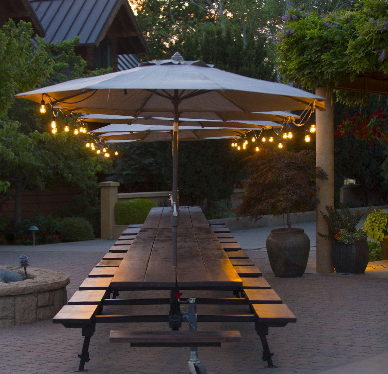 Big Big Table Umbrella Three Event Rental Tables Walla Walla