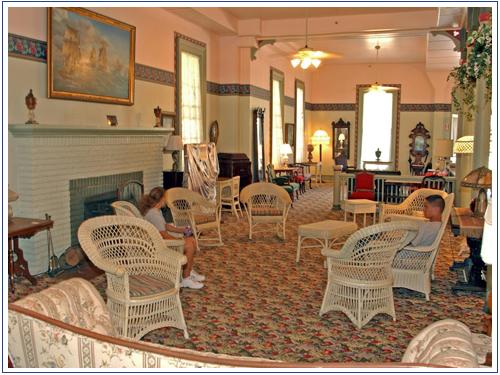 Hotel Lakeside Lobby Courtesy Of The Ociation