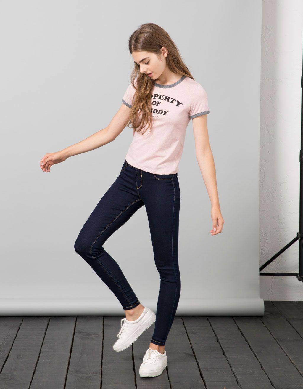 4c692bd01f4442 Jeans BSK push up - Jeans - Bershka Colombia