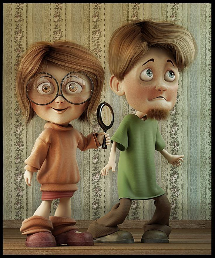 Velma and shaggy character design pinterest - Personnage scooby doo ...