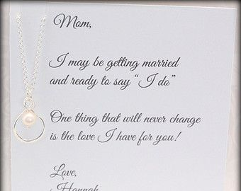 Gifts For Daughter From Mom DAUGHTER Necklace To Double Circles