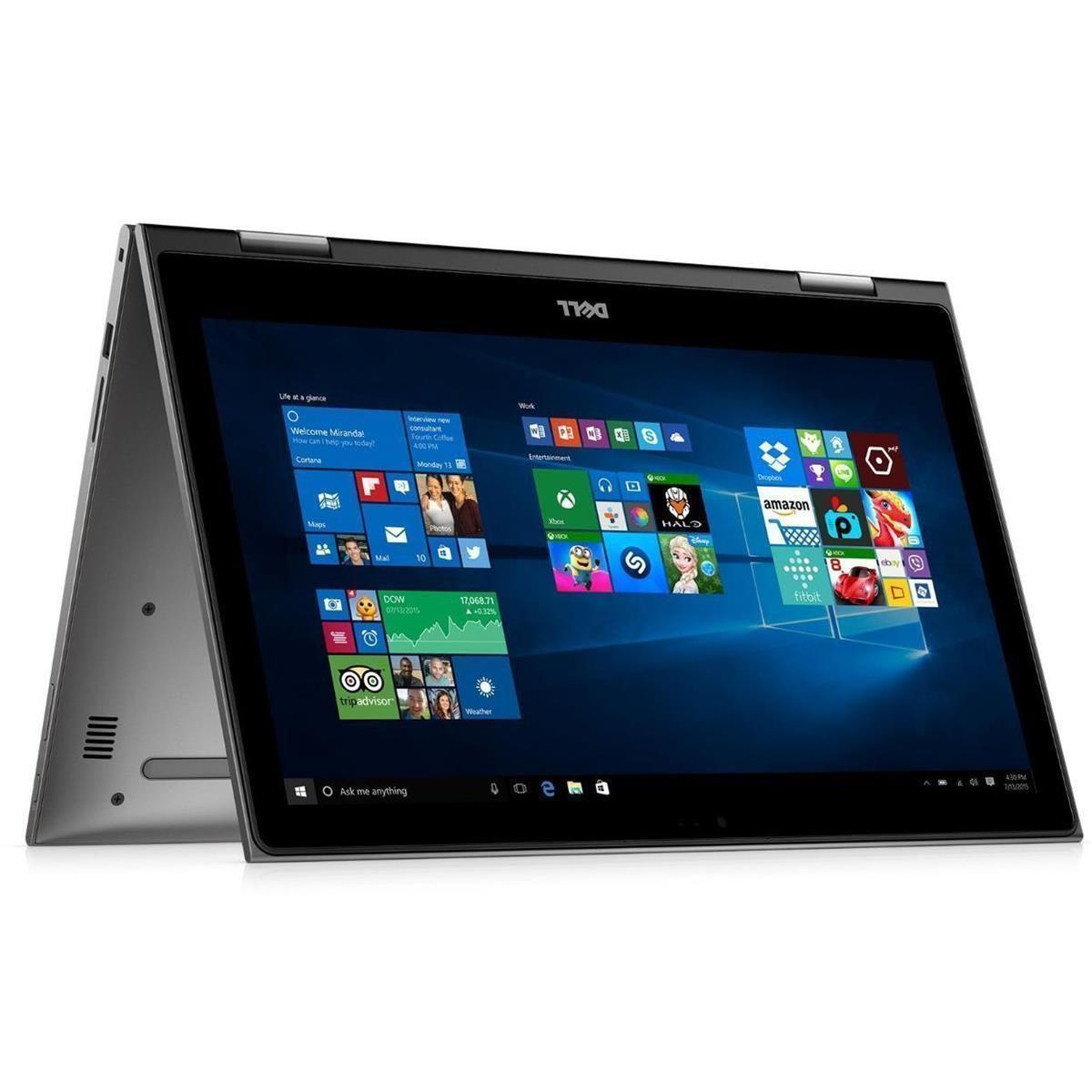 Dell Inspiron 15 5568 2 In 1 15 6 Laptop I7 6500u 500gb 8gb 1080p