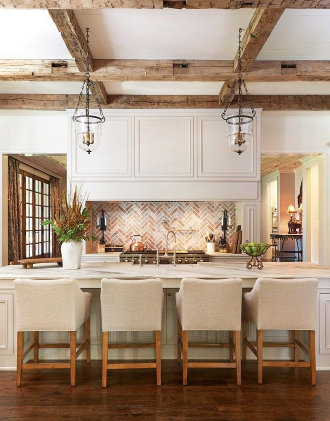 Noteworthy Rustic Wood Ceilings Beautiful Kitchens Home Kitchen Inspirations