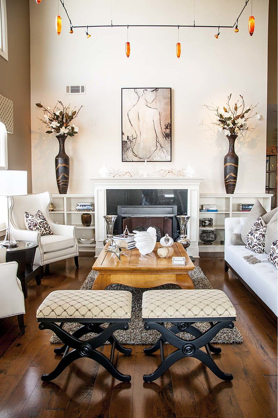 Get inspired by eclectic living room design photo by gays amp a