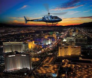 Lights Of Vegas Helicopter Wedding