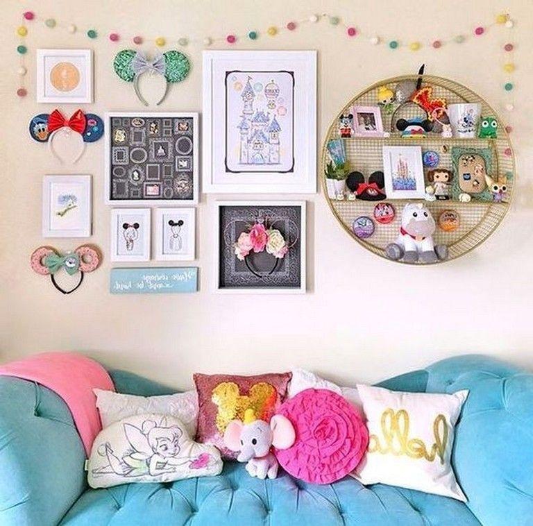 14 Beautiful Disney Bedroom Design Ideas For Your Children Disney Room Decor Disney Home Decor Disney Bedrooms