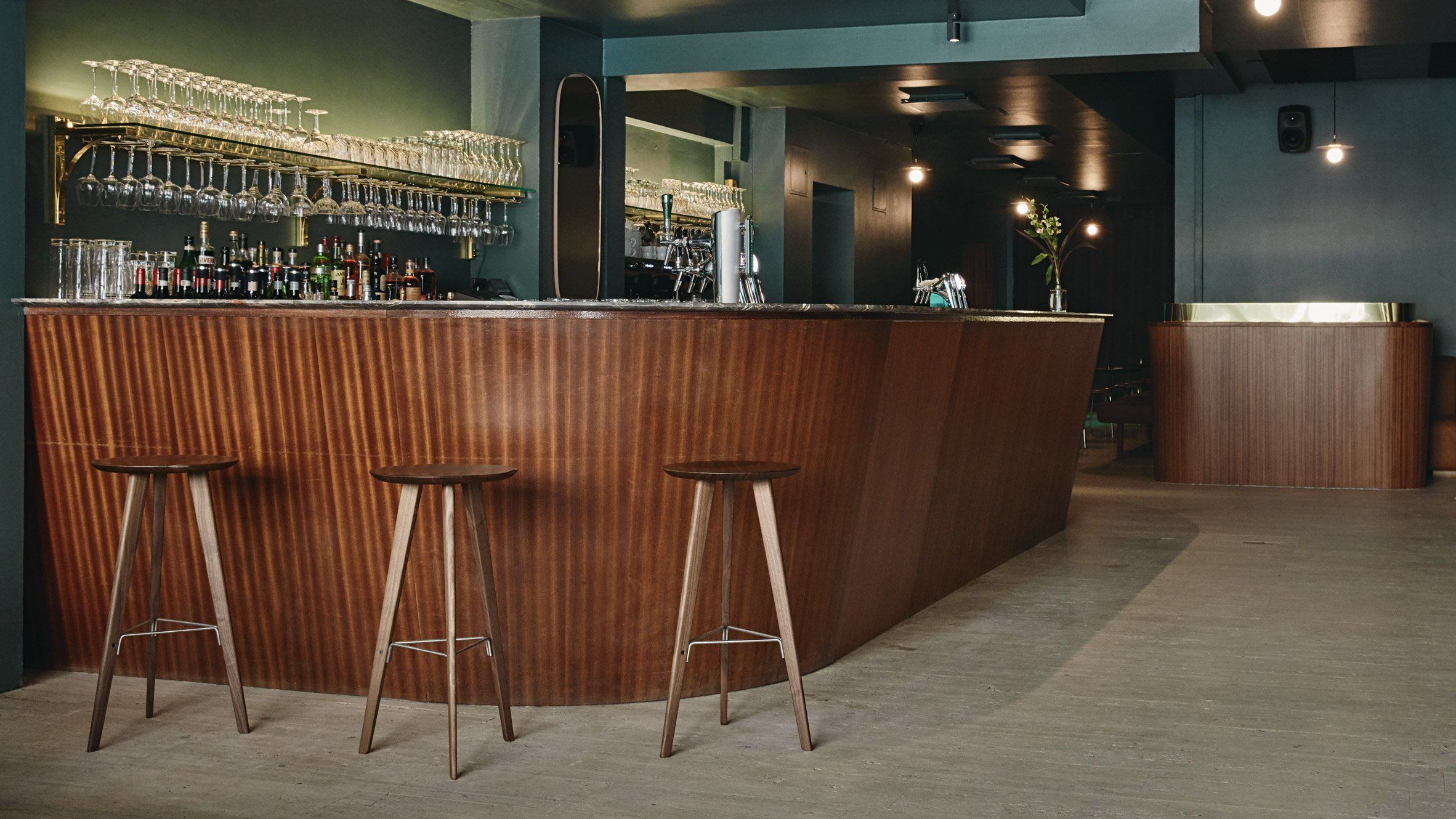 Helsinki's Jackie bar takes its design cues from 60s and 70s disco music