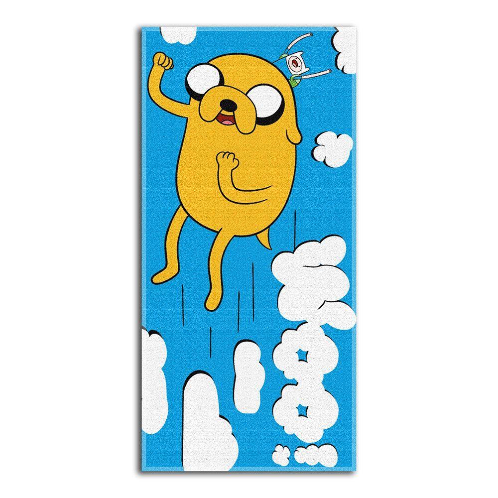 Adventure Time Woo Beach Towels 28in x 58in