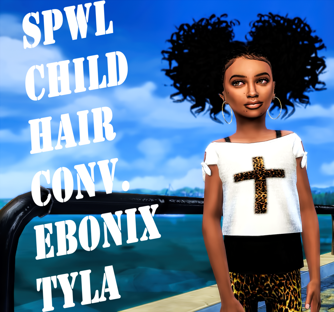 lana cc finds spwl cf ebonix baby tyla hair ts4 hair kids