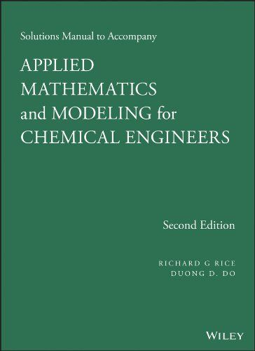 Solutions Manual To Accompany Applied Mathematics And Mod Https Www Amazon Com Dp 1118804767 Ref Cm Sw R Pi D Mathematics Download Books Free Books Online