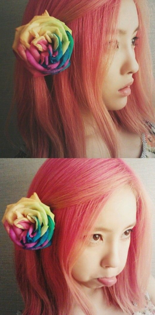 [SELCA] Hyomin with red hair