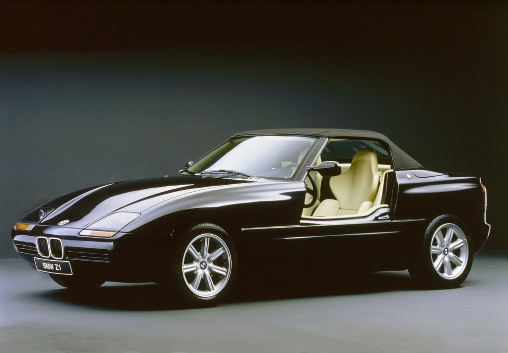25 Anniversary Of Bmw Z1 Where Are The Doors Car