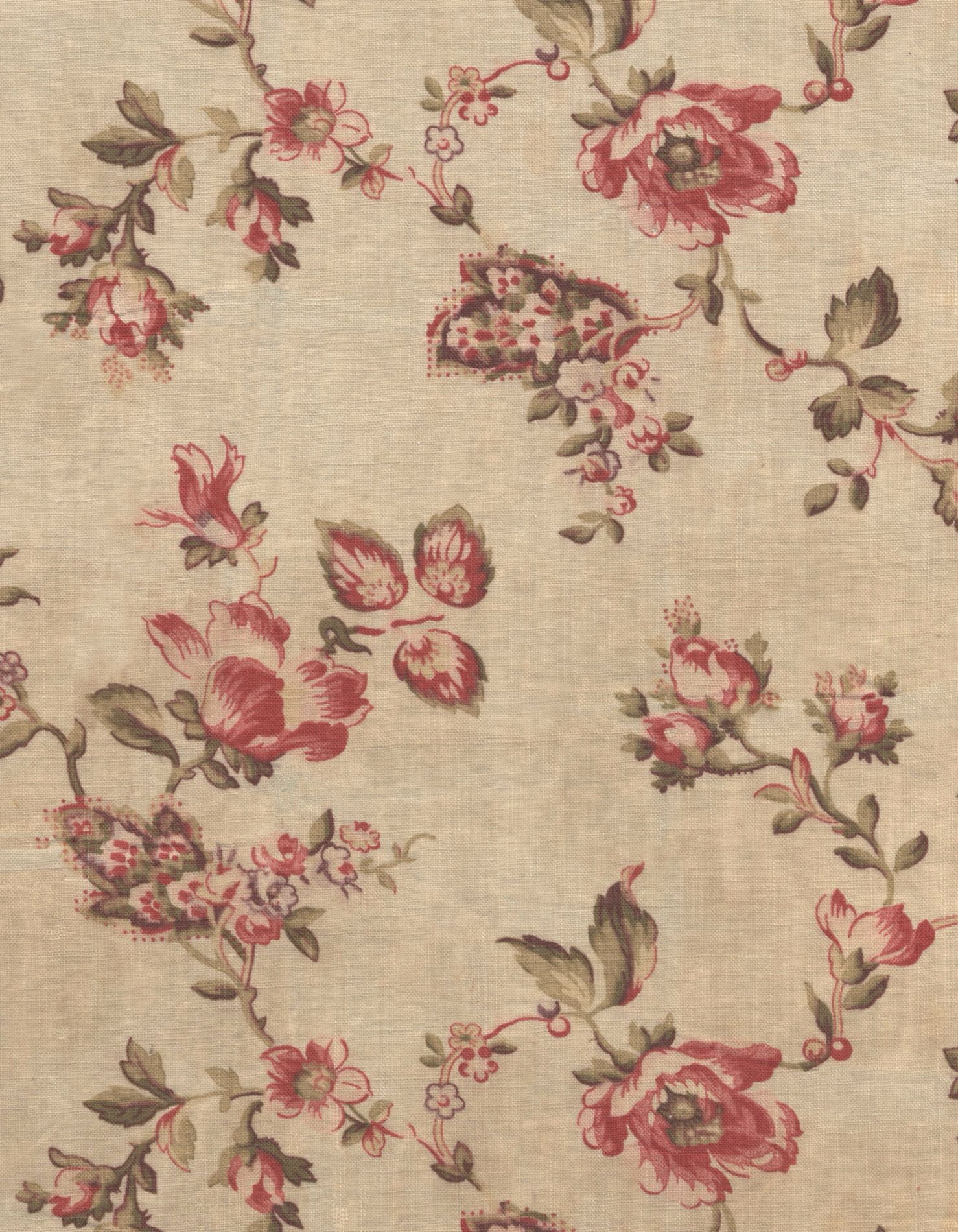 Brewster 430 7029 Vintage Legacy Iii Floral Stripe Wallpaper 20 5
