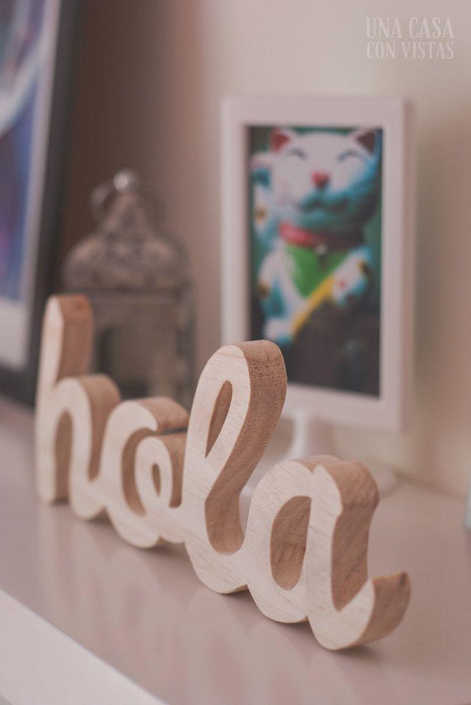 Letras de madera personalizadas para decorar Creación Pinterest