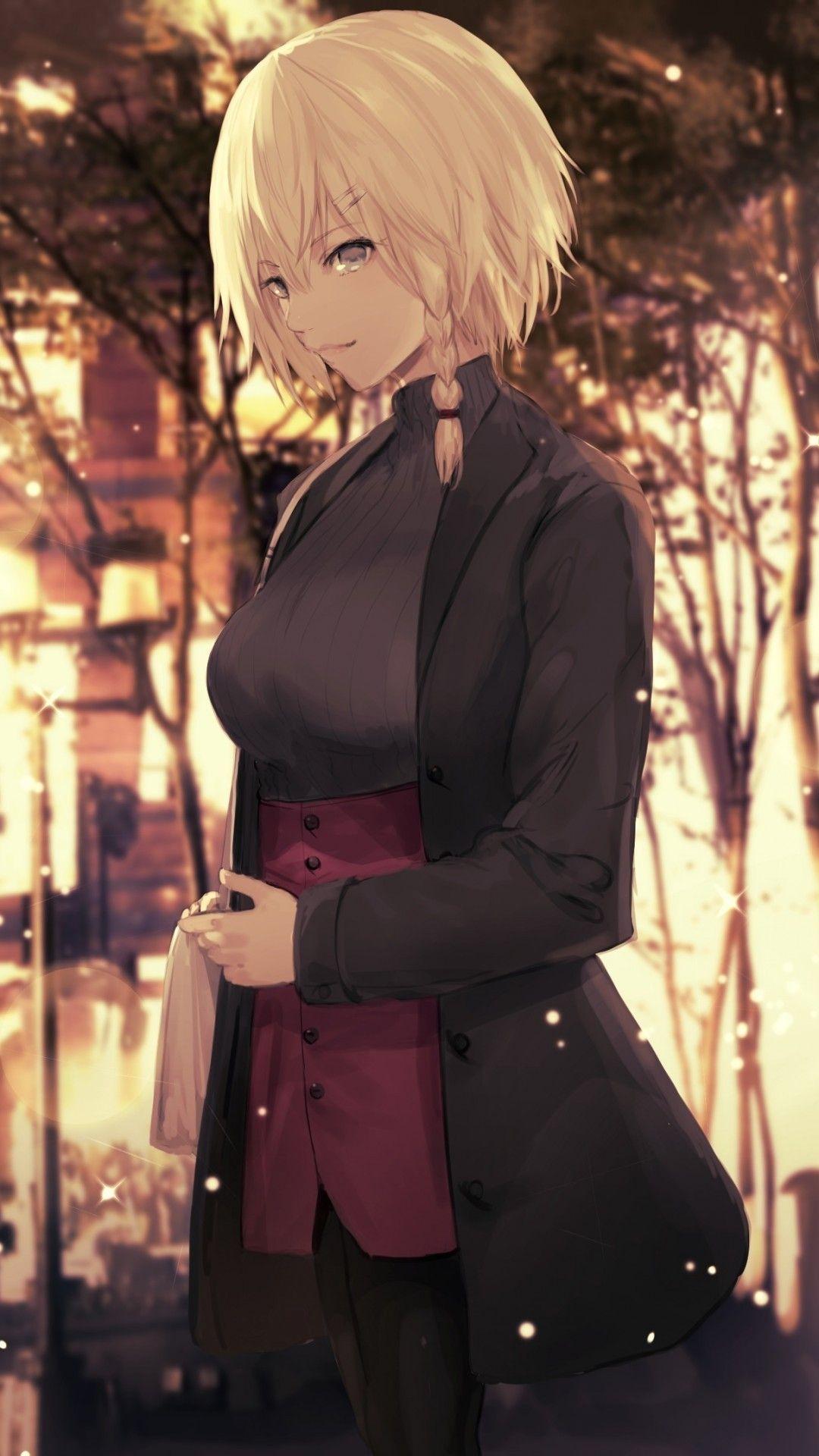 Short Blonde Hair Anime Girl : short, blonde, anime, Anime