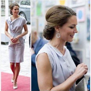 I love Kate's classy updo!
