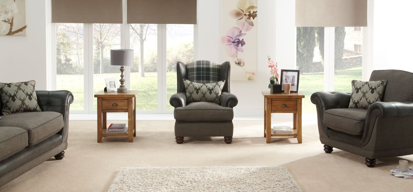 The Argyle Wing Chair Combines Clic Fabric Designs Fibre Filled Seat Interiors And Two Wood Foot Options Online Now At Scs
