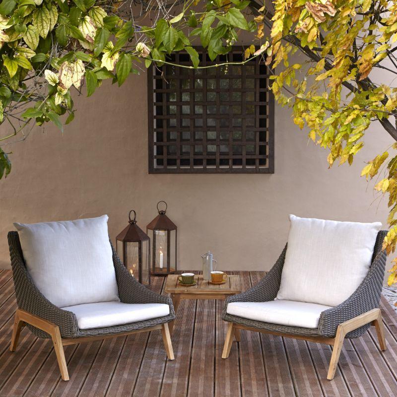 Laidback Retro Garden Furniture Coffee Set B Q Garden 400 x 300
