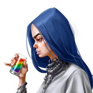 Grobi Grafik Digital Artist Deviantart In 2020 Billie Eilish Billie Digital Artist
