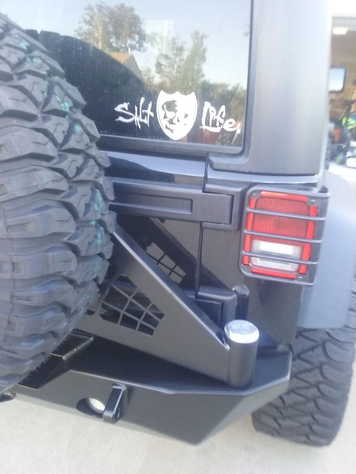 Jeep Wrangler Jk Rearbumper Jeep Wrangler Jk Rear Bumpers