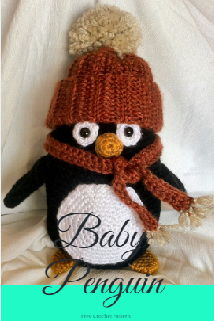 Crochet Baby Penguin - free pattern | Crochet Fun | Pinterest | Baby ...