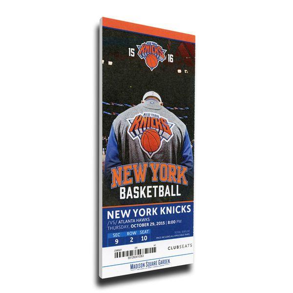 Kristaps Porzingis New York Knicks Home Debut Mega Ticket -  79.99 ... 34f300d3a