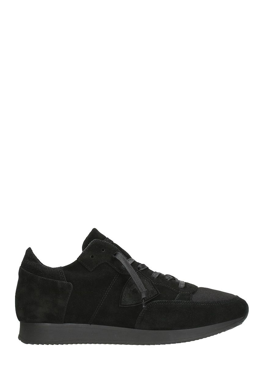 PHILIPPE MODEL TROPEZ BLACK SNEAKERS.  philippemodel  shoes ... 8986e0eb306