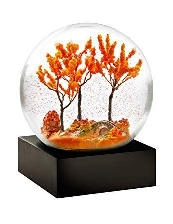 coolsnowglobes Fall Season Snow Globe - Herbstdeko Eingangsbereich