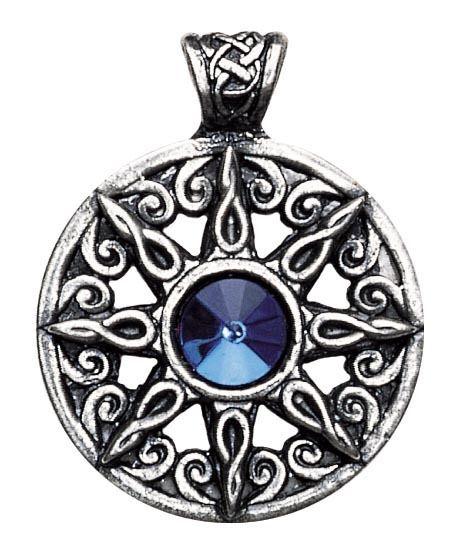 Keltischer schmuck  Ring der Himmel Keltischer Schmuck Anhänger Amulett Zinn 030.018 ...