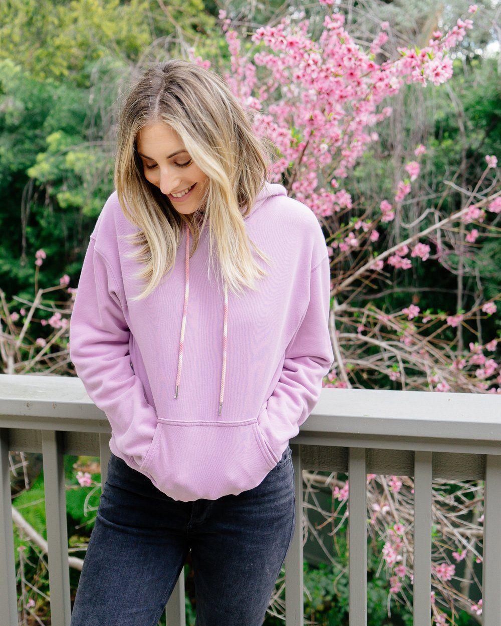 The Daydreamer Hoodie Purple Hoodie Sweatshirt Daydreamer Purple Hoodie Light Purple Hoodie Hoodies [ 1250 x 1000 Pixel ]