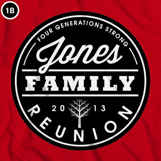 Lovely Family Idea Reunion Tshirt Design | Family Reunion T Shirts | Good  Typography | Free