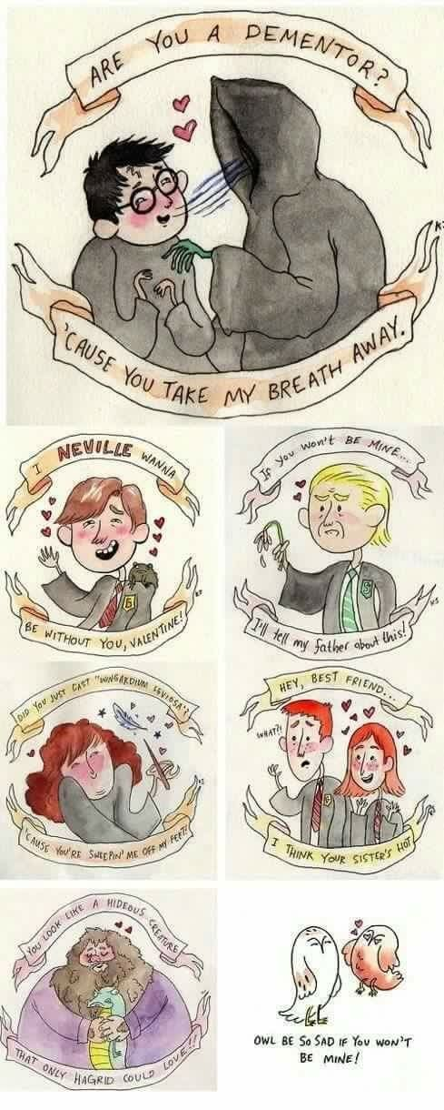 The Harry Potter Puns Are Real Animaux Harry Potter Dessin Harry Potter Personnages Harry Potter