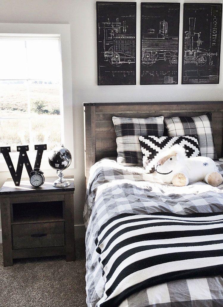 65 Cool Teenage Boys Room Decor Ideas & Designs (2020 ...