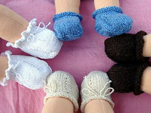 Crochet Spot » Blog Archive » Crochet Pattern: Doll Booties ... | 375x500