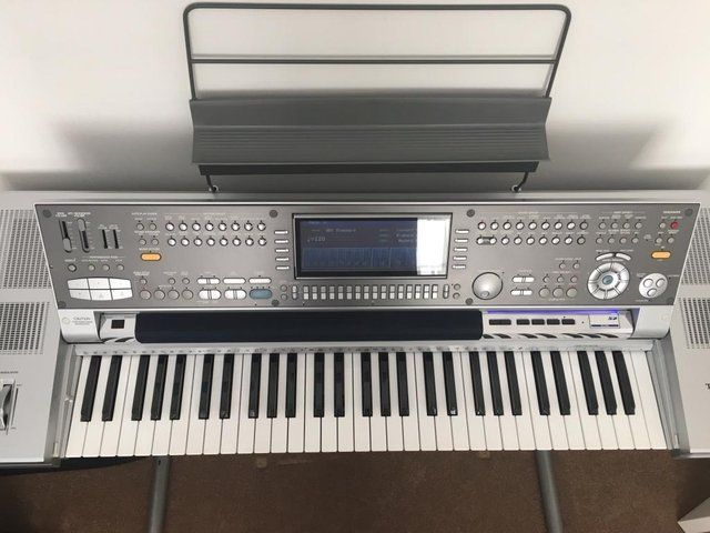 technics sx kn7000 keyboard with stand for sale in nottingham preloved technics sx. Black Bedroom Furniture Sets. Home Design Ideas