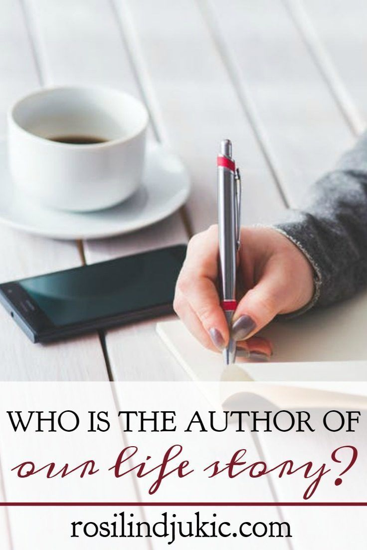 Superior Who Is The Author Of Our Life Story | Authors, Christian And Christian  Inspiration