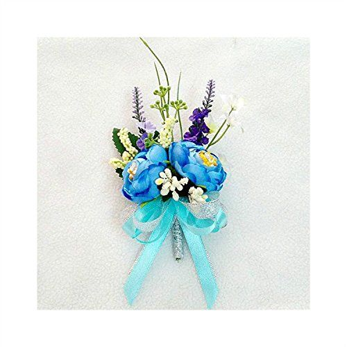 Hand-tied Fabric Roses Corsage Flower with Ribbon for Pro... http://www.amazon.com/dp/B01GHISMC6/ref=cm_sw_r_pi_dp_MYwvxb10BET00