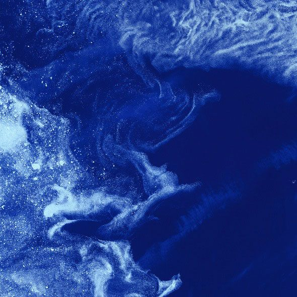 Glace dans l'océan Arctic