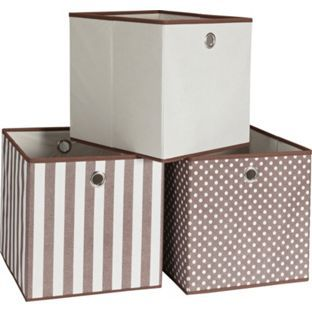 Buy Set Of 3 Storage Boxes
