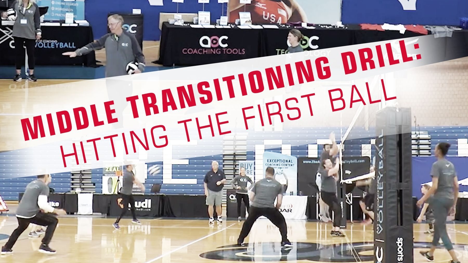 Middle Transition Drill Hitting The First Ball The Art Of Coaching Volleyball Coaching Volleyball Volleyball Skills Coaching