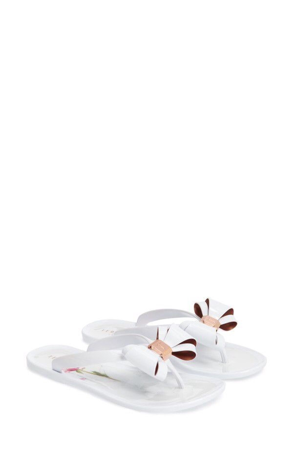 d7a97ae76b54cd Ted Baker London Ted Baker London Rueday Bow Flip Flop (Women) available at   Nordstrom