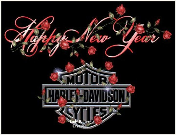 harley new year