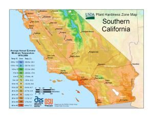 Find Your Usda Zone With These State Maps Plant Hardiness Zone