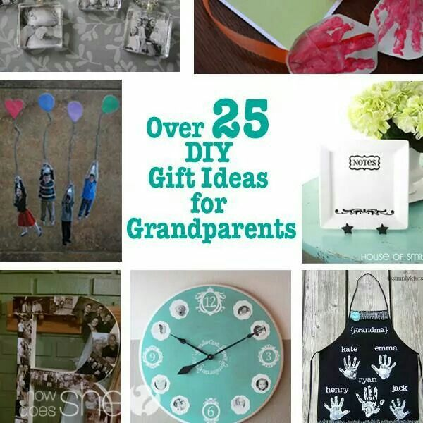 Great Diy Christmas Gift: Great Ideas For Grandparents